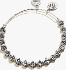 Alex and Ani Alex and Ani, Anchor Beaded, RS