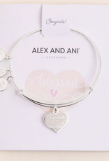 Alex and Ani Alex and Ani, Blessed Mama, Shiny Silver
