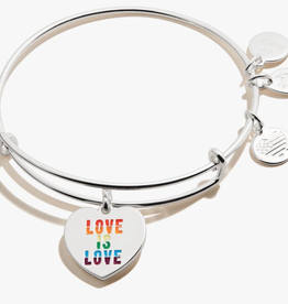 Alex and Ani Alex And Ani, Love is Love, Shiny Silver