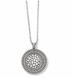 Brighton Brighton, Pebble Round Convertible Reversible Necklace