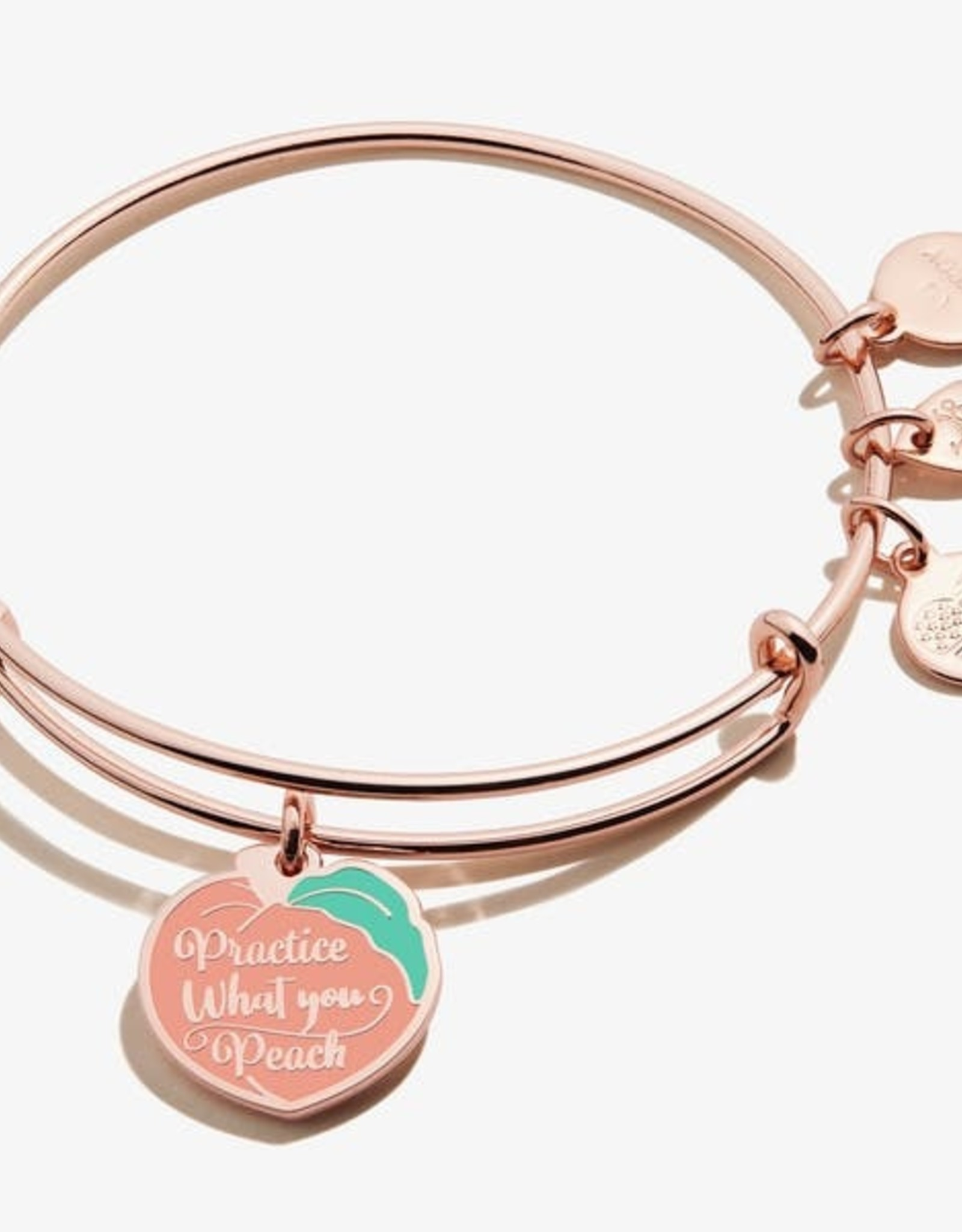 Alex and Ani Alex And Ani, Practice What You Peach, Shiny Rose Gold