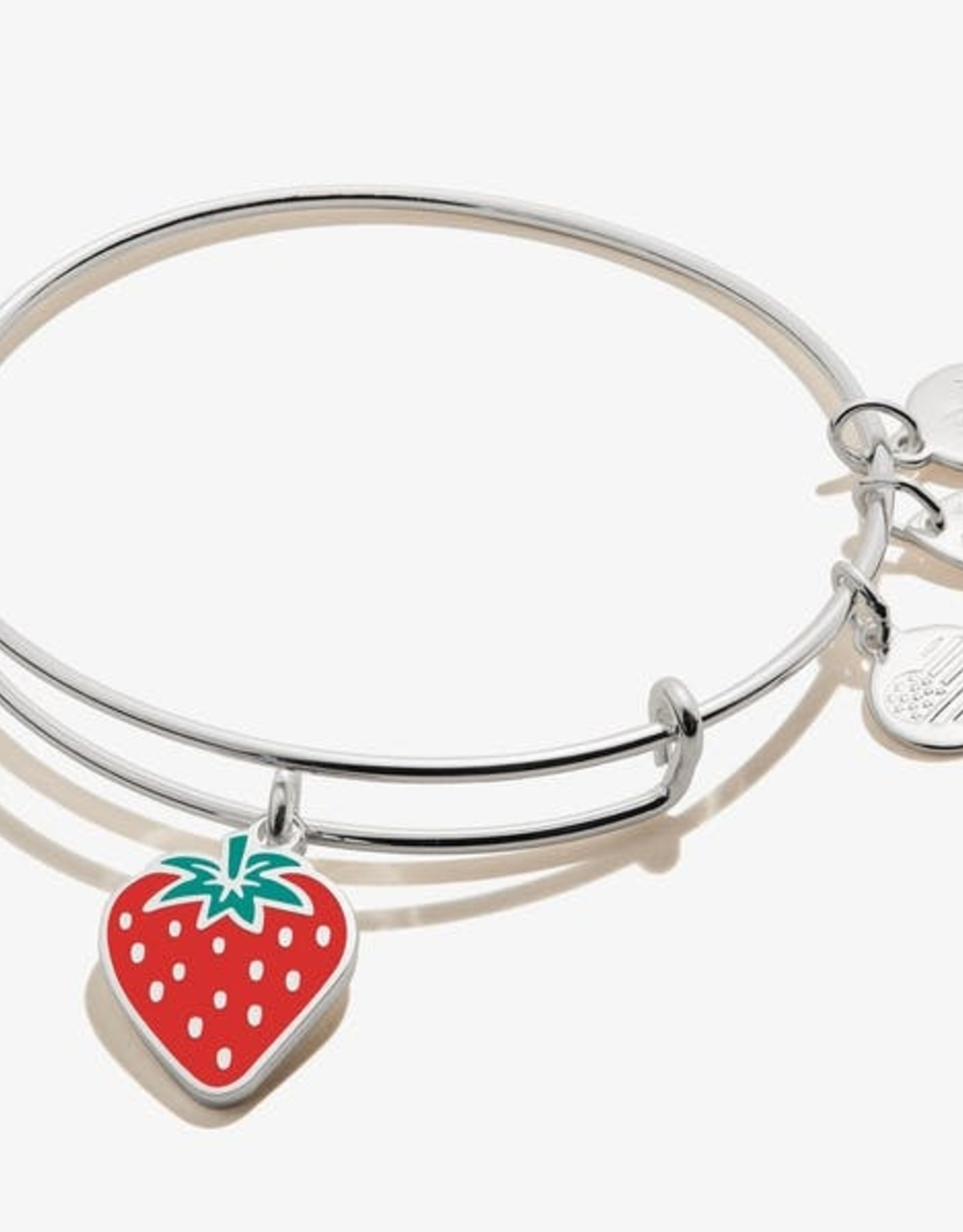 Alex and Ani Alex And Ani, Strawberry, Shiny Silver