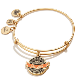 Alex and Ani Adventures Fill Your Soul, Gold