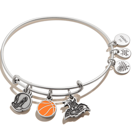 Alex and Ani Space Jam, Tweety & Sylvester Trio Charm, Silver