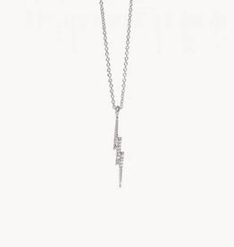 """Spartina 449 Sea La Vie Necklace 18"""" Kaboom/Lightning Silver"""