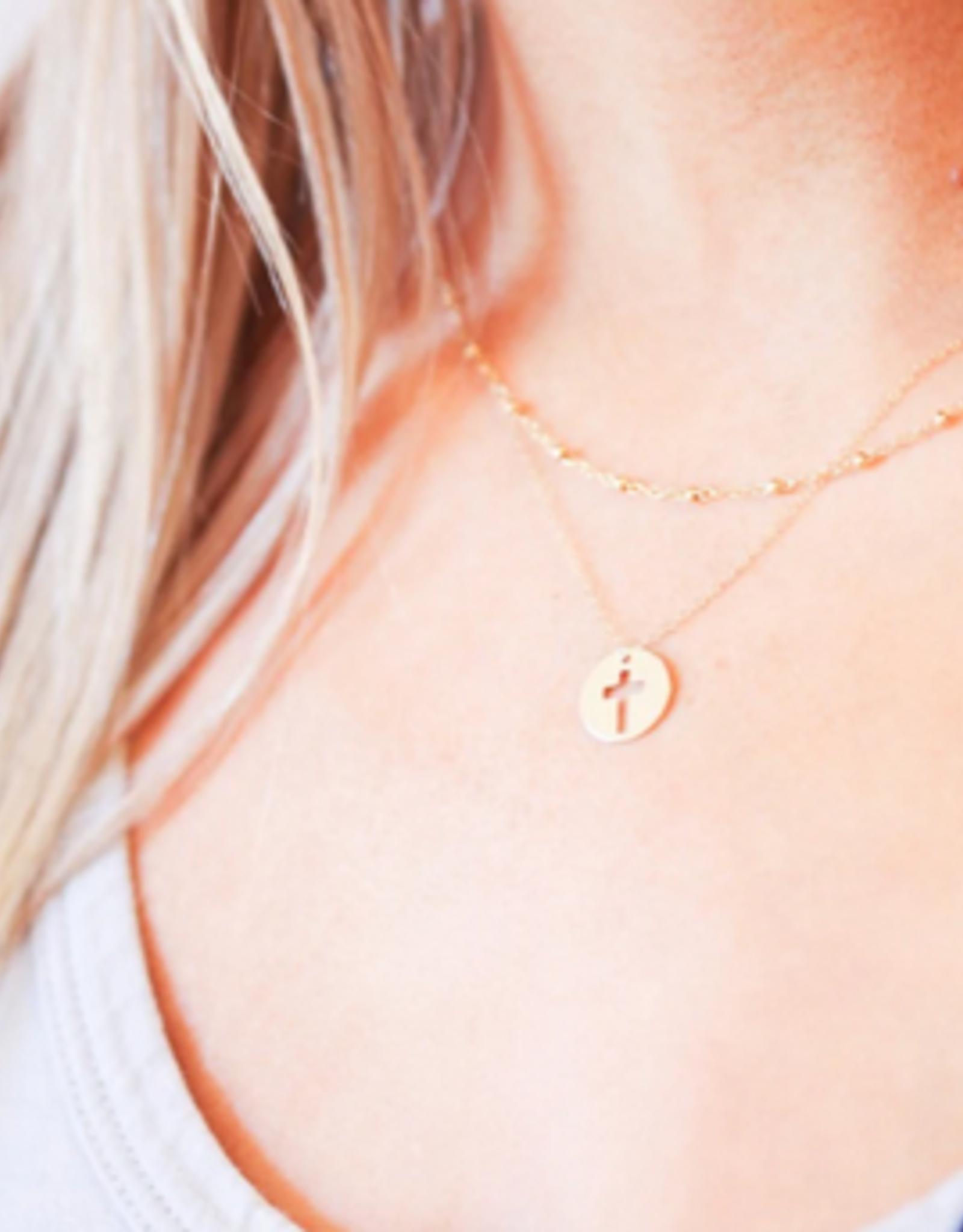 """ENEWTON Enewton, 16"""" Necklace Gold - Blessed Charm"""