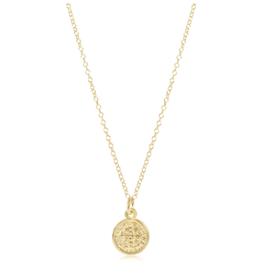 "ENEWTON Enewton, 16"" Necklace Gold - Blessing Small Gold Charm"
