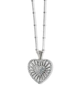 Brighton Brighton, Illumina Heart Burst Necklace