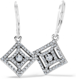 Brighton Brighton, Illumina Diamond Leverback Earrings