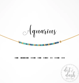Dot & Dash Dot & Dash, Aquarius Necklace