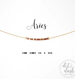 Dot & Dash Dot & Dash, Aries Necklace