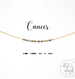 Dot & Dash Dot & Dash, Cancer Necklace