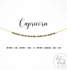 Dot & Dash Dot & Dash, Capricorn Necklace