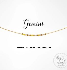 Dot & Dash Dot & Dash, Gemini Necklace