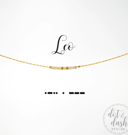 Dot & Dash Dot & Dash, Leo Necklace