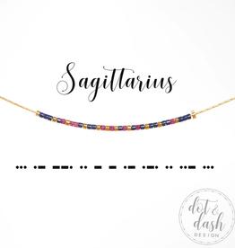 Dot & Dash Dot & Dash, Sagittarius Necklace