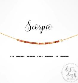 Dot & Dash Dot & Dash, Scorpio Necklace