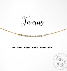 Dot & Dash Dot & Dash, Taurus Necklace