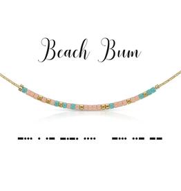 Dot & Dash Dot & Dash, Beach Bum Necklace