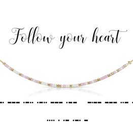 Dot & Dash Dot & Dash, Follow Your Heart Necklace