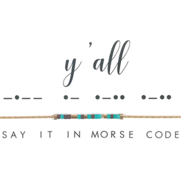 Dot & Dash Dot & Dash, Y'all Necklace