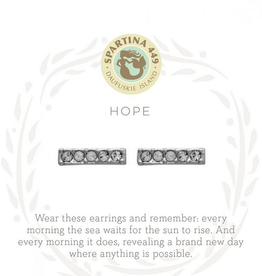 Spartina 449 Sea La Vie Stud Earrings Hope/Horizon SIL