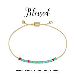 Dot & Dash Dot & Dash, Blessed Bracelet