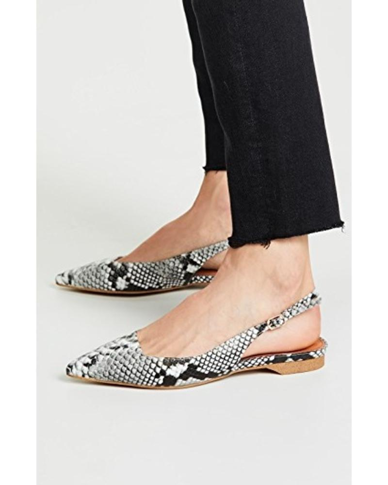 Matiko Matiko Lori Pointed Toe Slingback Flat