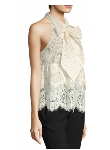 Ganni Ganni Jerome Lace Top