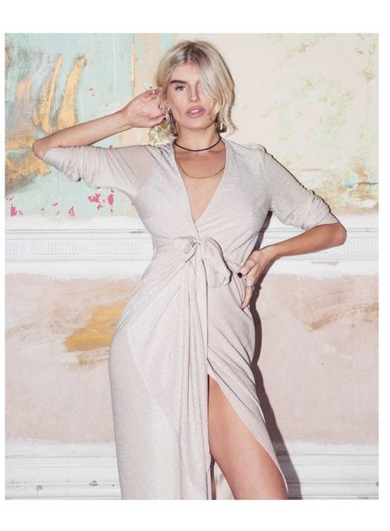 Never Fully Dressed Never Fully Dressed Stardust Wrap Dress