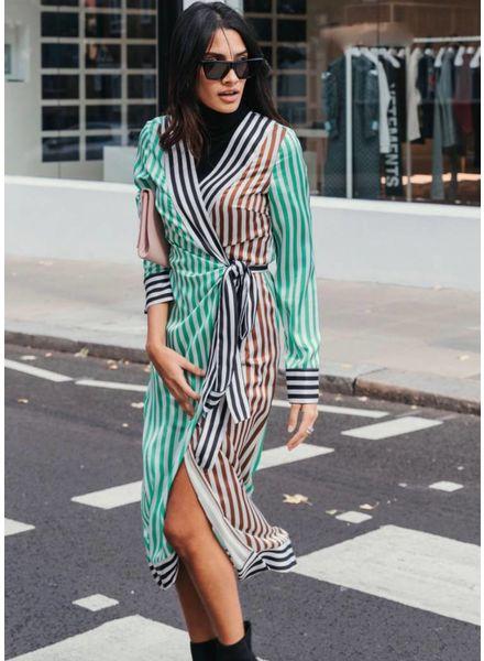 Never Fully Dressed Margot Wrap Dress
