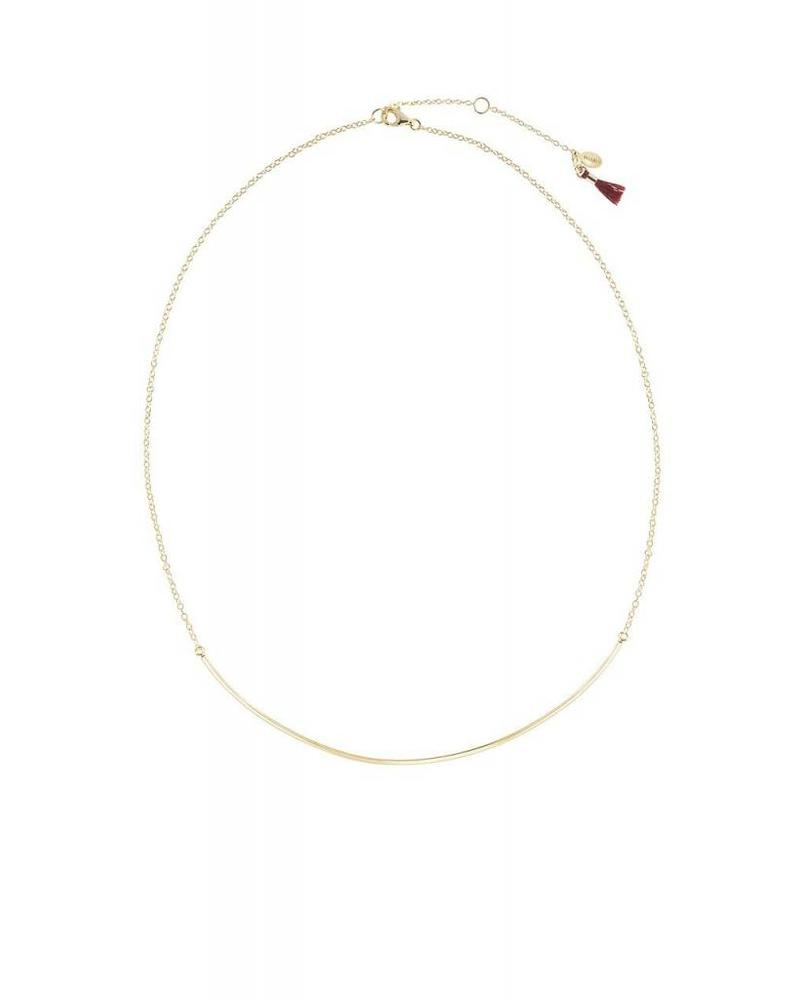 Shashi XL Bar Necklace