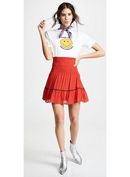 Ganni Mullin Georgette Skirt