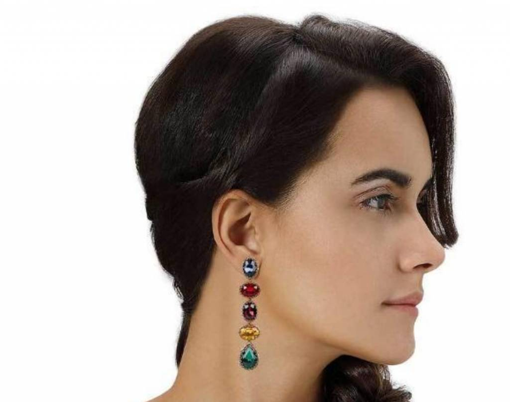 Deepa Gurnani Tyra Earrings