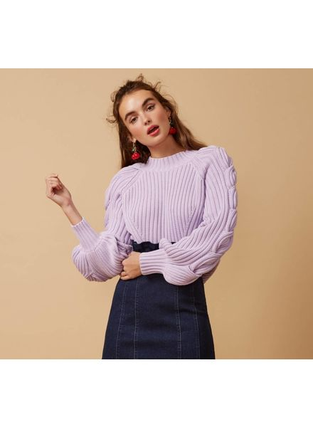 Finders Keppers Linear Knit Top