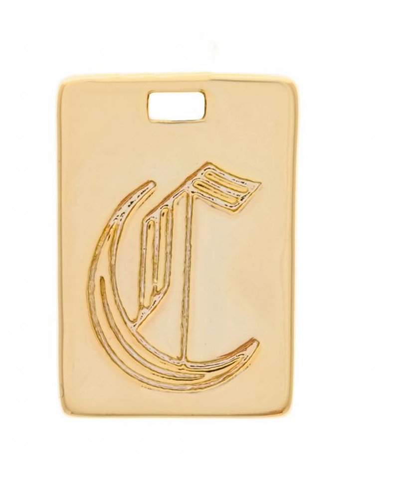 Girls Crew Initial Necklace