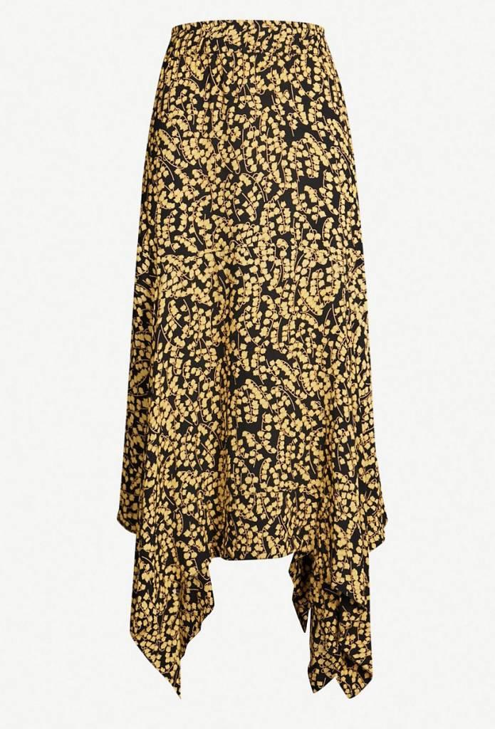 a180c5916d4 Ganni Printed Crepe Skirt - Ladybird