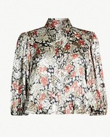 Ganni Satin Shirt