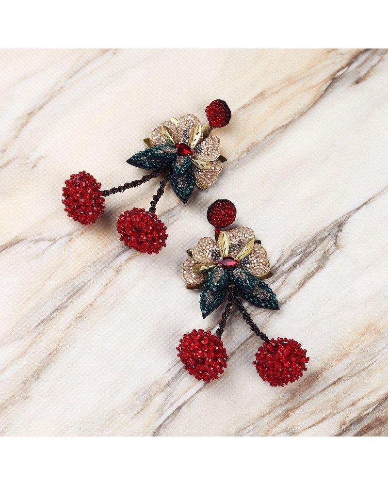 Deepa Gurnani Cherry Earring