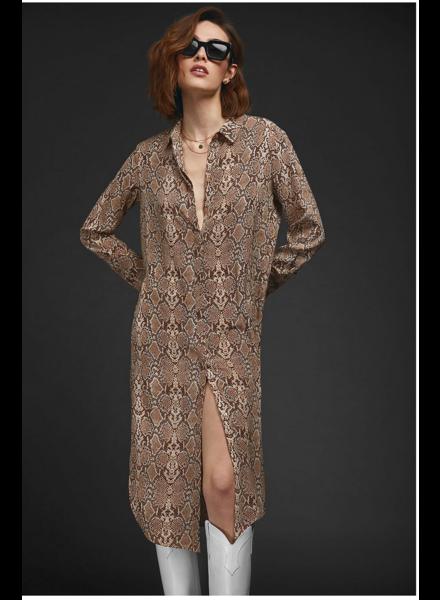 Anine Bing Chelsea Python Dress
