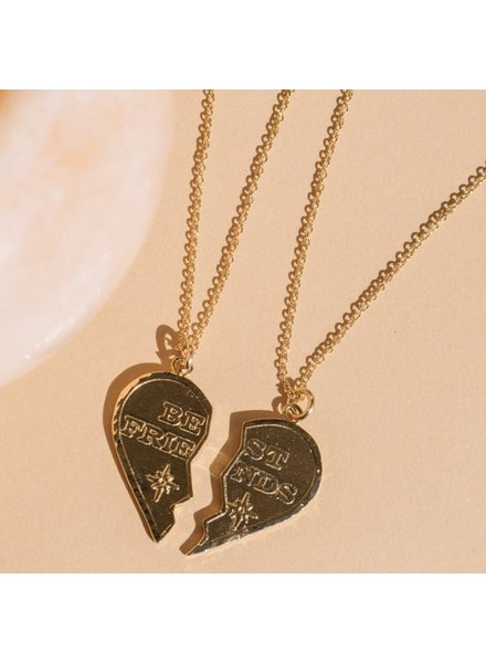 Jurate Brown BFF Necklace