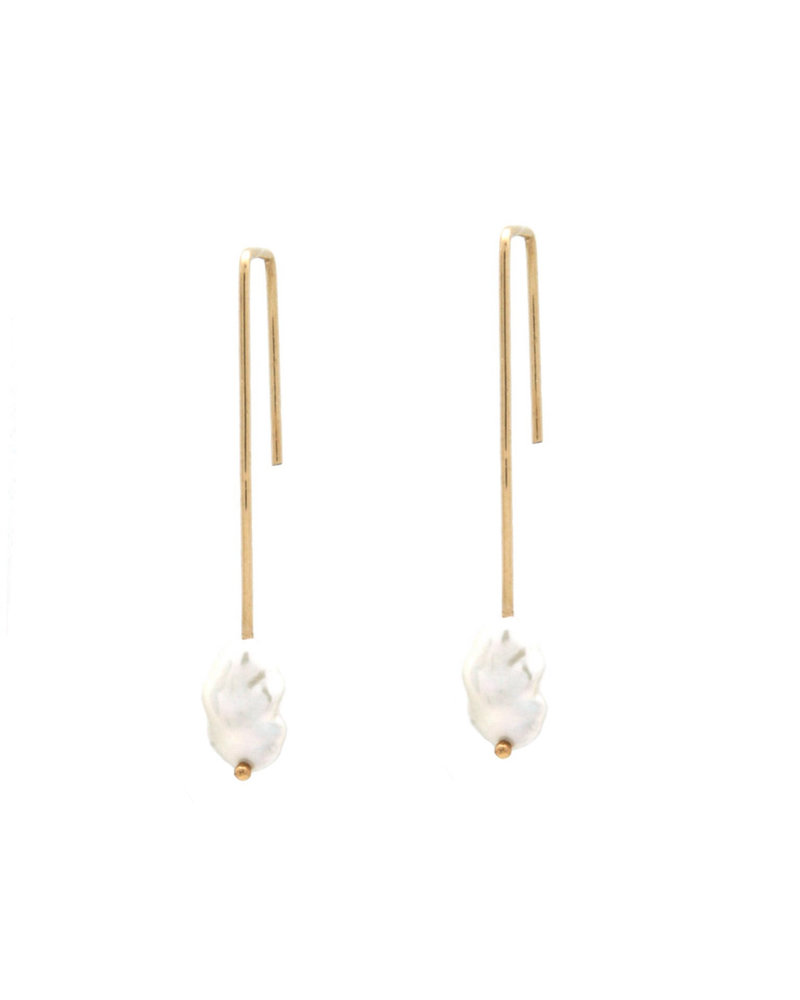 Jurate Brown Dame Earring