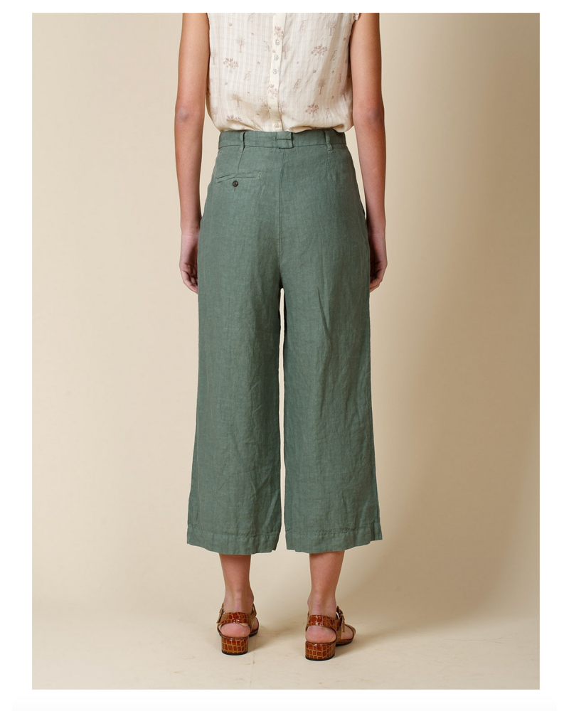 indi & cold Linen Pant