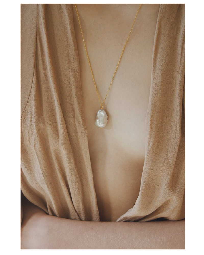 VAYU Baroque Pearl Necklace