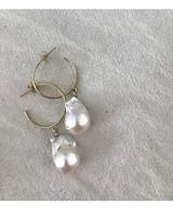 VAYU Baroque Pearl Hoop