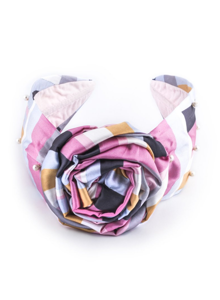 NAMJOSH Printed Silk Headband