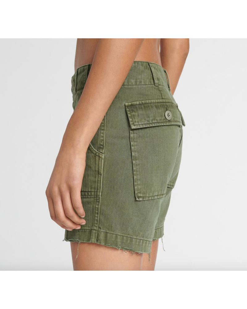 Re/Done 50s Military Shorts