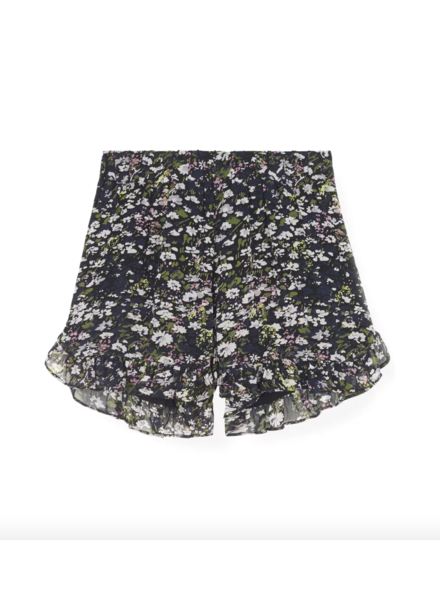 Ganni Printed Shorts