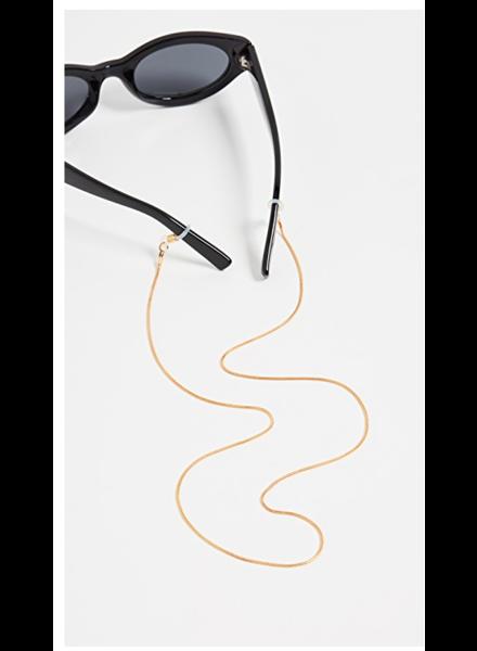 Le Specs Gold Neck Chain