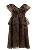 Ganni Organza Dress